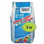 MAPEI ULTRACOLOR Plus №114 антрацит, затирка д/швов 2-20 мм (2 кг)  MAPEI (Мапеи)